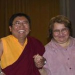 Rinpoche and Sharon